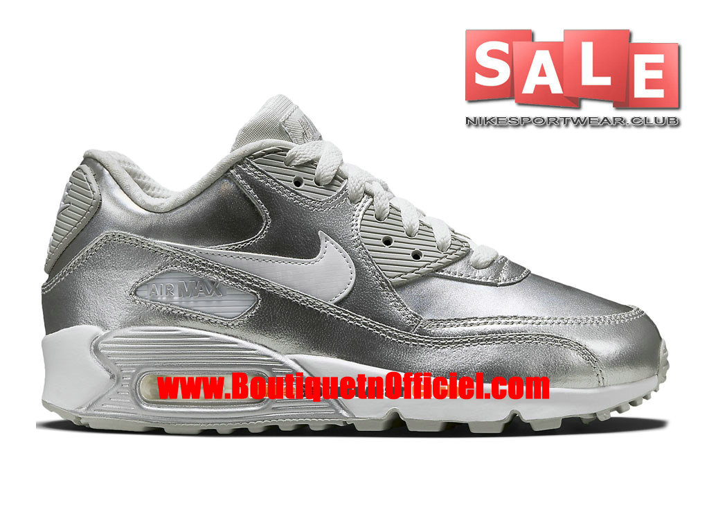 Nike Air Max 90 Premium Leather - Chaussure Nike Sportswear Pas Cher Pour Homme