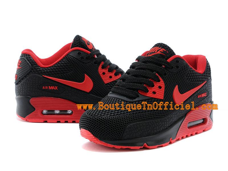 57ac4cf7bd9d5a ... Nike Air Max 90 Ps Chaussures NIke Officiel Pour Enfant Garcon  Noir Rouge