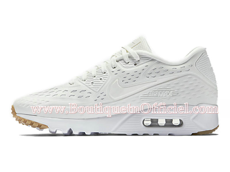 Nike Air Max 90 Ultra BR Chaussures Pour Homme Blanc 725222-100