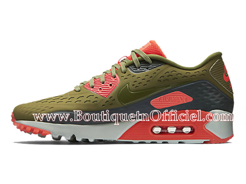 Nike Air Max 90 Ultra BR Chaussures Pour Homme Green/Bright 725222-300