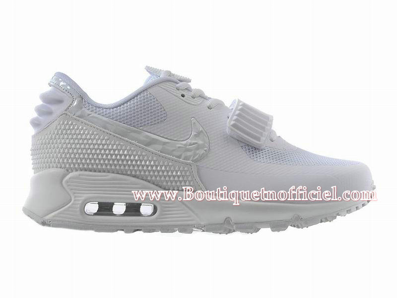 Nike Air Max 90 Yeezy 2 (Design by Blkvis) - Chaussures Nike Sport Pas Cher Pour Homme Blanc 508214-604iD
