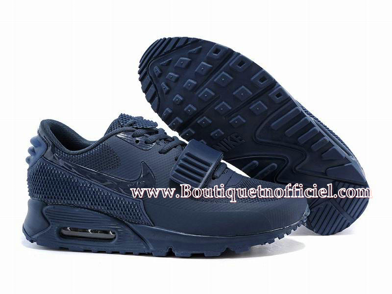 Nike Air Max 90 Yeezy 2 (Design by Blkvis) Chaussures Nike Sport Pas Cher Pour Homme Bleu 508214 605iD 1507081608 Officiel Nike Site! Chaussures Tn