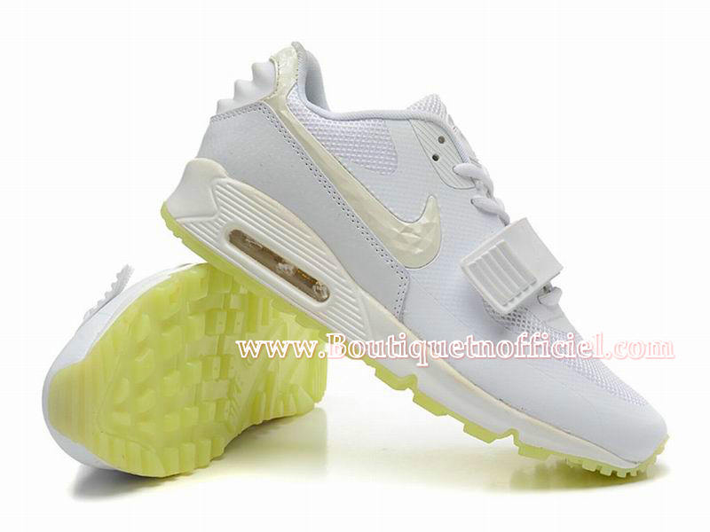 Nike Air Max 90 Yeezy SP (Design by Blkvis) - Chaussures Nike Sport Pas Cher Pour Homme Blanc 508214-003
