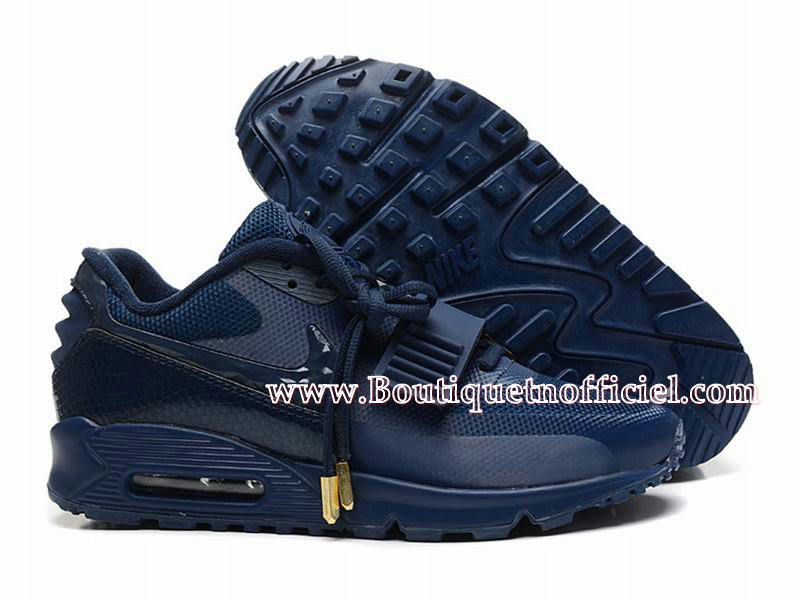 Nike Air Max 90 Yeezy SP (Design by Blkvis) - Chaussures Nike Sport Pas Cher Pour Homme Bleu 508214-008