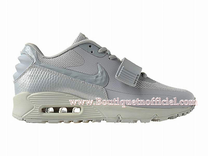 Nike Air Max 90 Yeezy SP (Design by Blkvis) - Chaussures Nike Sport Pas Cher Pour Homme Gris 508214-011