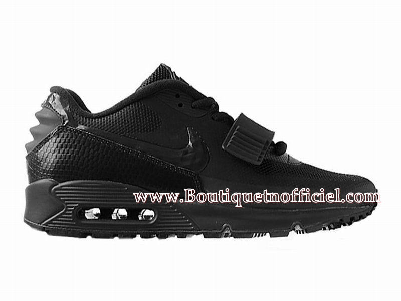 Nike Air Max 90 Yeezy SP (Design by Blkvis) - Chaussures Nike Sport Pas Cher Pour Homme Noir 508214-007