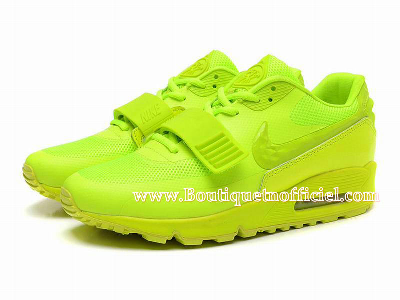 Nike Air Max 90 Yeezy SP (Design by Blkvis) - Chaussures Nike Sport Pas Cher Pour Homme Volt 508214-700