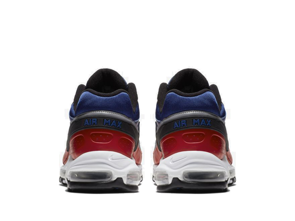 Nike Air Max 97/BW Chaussures Officiel Nike Pas Cher Pour Homme Bleu Rouge AO2406-400