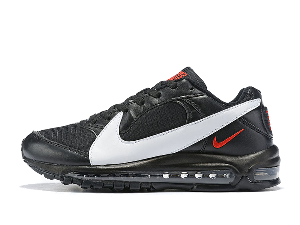 Nike Air Max 97/BW Chaussures Officiel Nike Pas Cher Pour Homme Noir Blanc AO2406-ID2