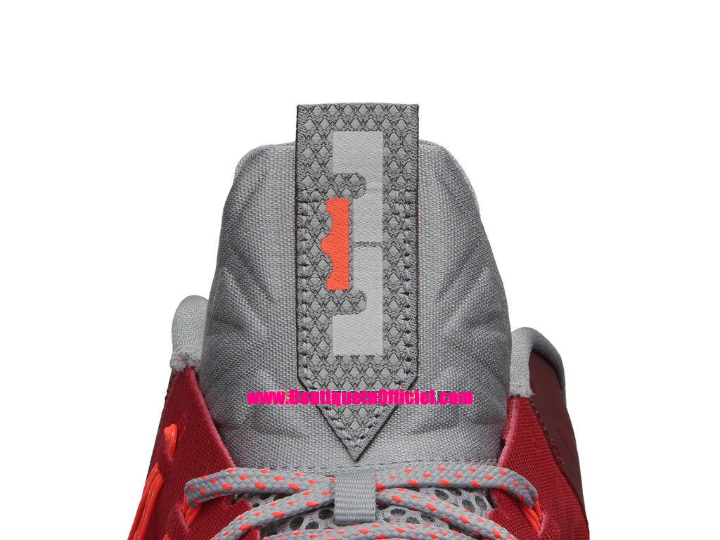 Nike Air Max LeBron X/10 Low - Chaussures Baskets Nike Pas Cher Pour Homme University Red 579765-600
