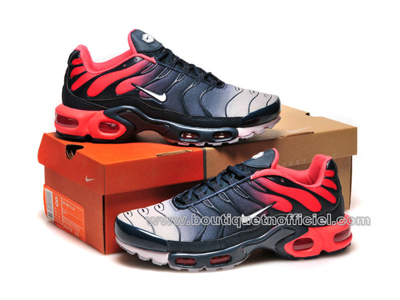 new style b79b6 3dec3 ... Nike Air Max Plus (Tn Requin 2014) Chaussures Pour Homme RougeNoir