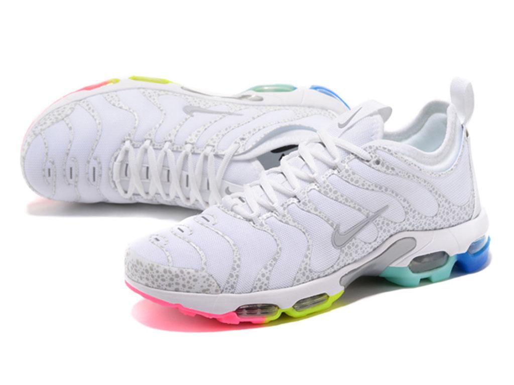 100% authentic 186e5 b5565 ... Nike Air Max Plus Tn Ultra Chaussures de Basket Pas Cher Pour Homme  Blanc ...