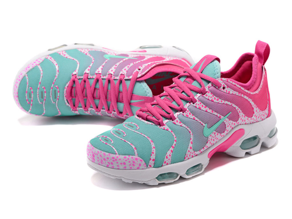 Nike Air Max Plus TN Ultra GS Rose Bleu Chaussures de