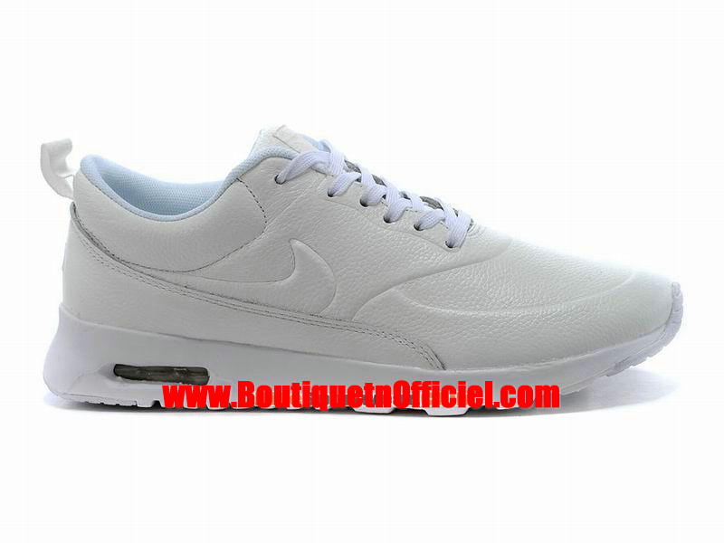 Nike Air Max Thea Leather Chaussure Nike Sportswear Pas Cher Pour Homme Blanc 616723-061