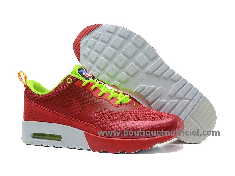 Nike Air Max Thea Print USA Chaussure Pour Homme Rouge 627249-600