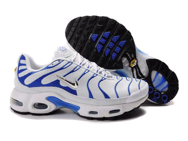 air max tn blanc bleu