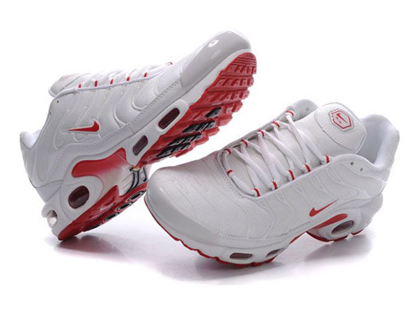 promo code 17ac9 17e96 ... Nike Air Max Tn RequinNike Tuned 1 Chaussures Officiel Nike Pour Homme  Blanc ...