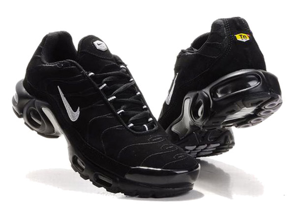 competitive price 2aaac fc44a ... Nike Air Max Tn Requin Nike Tuned 1 Chaussures Officiel Tn Pour Homme  Noir ...