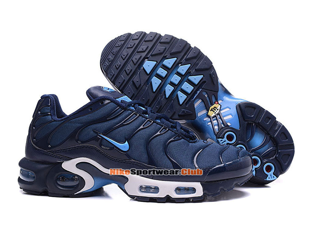 Nike Air Max Tn/Tuned Requin 2016 Chaussures Nike Basketball Pas Cher Pour Homme Noir/Bleu
