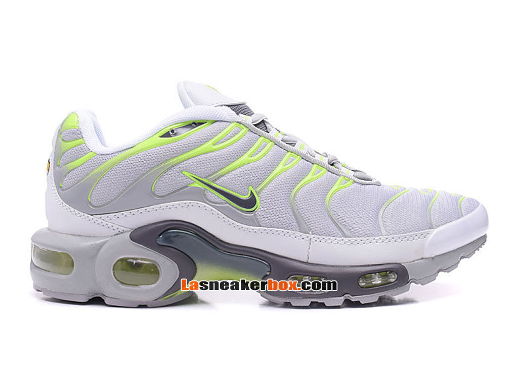 Nike Air Max TnTuned Requin 2017 Chaussures Officiel Nike Pas Cher Pour Homme Blanc Vert 604133 671 1707072184 Officiel Nike Site! Chaussures Tn