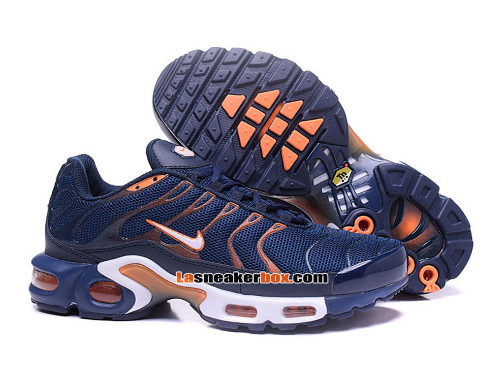 Nike Air Max Tn/Tuned Requin 2017 Chaussures Officiel Nike Pas Cher Pour Homme Bleu 604133-692