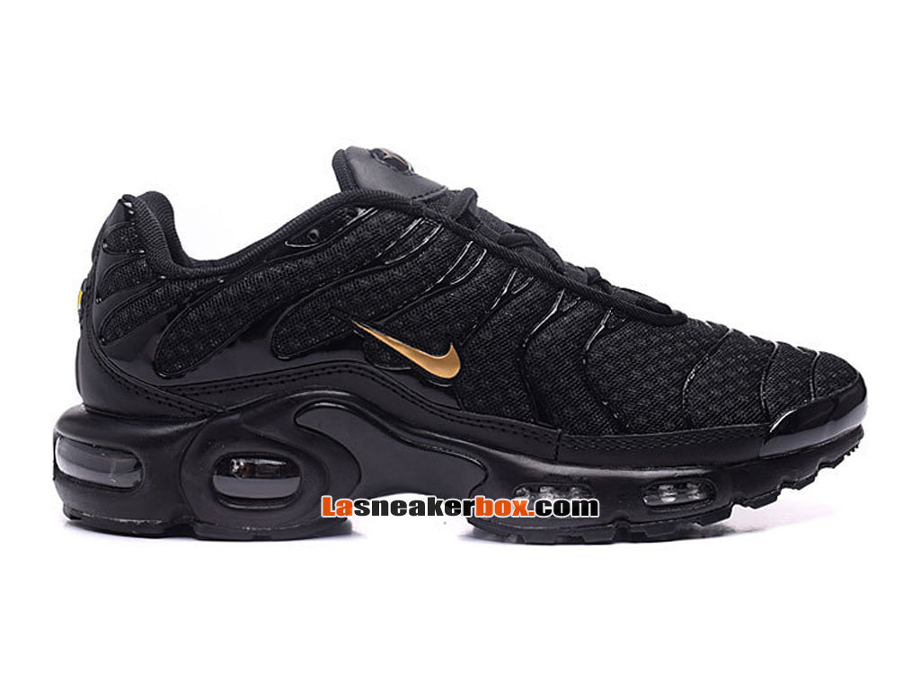Nike Air Max Tn/Tuned Requin 2017 Chaussures Officiel Nike Pas Cher Pour Homme Noir Or 604133-679
