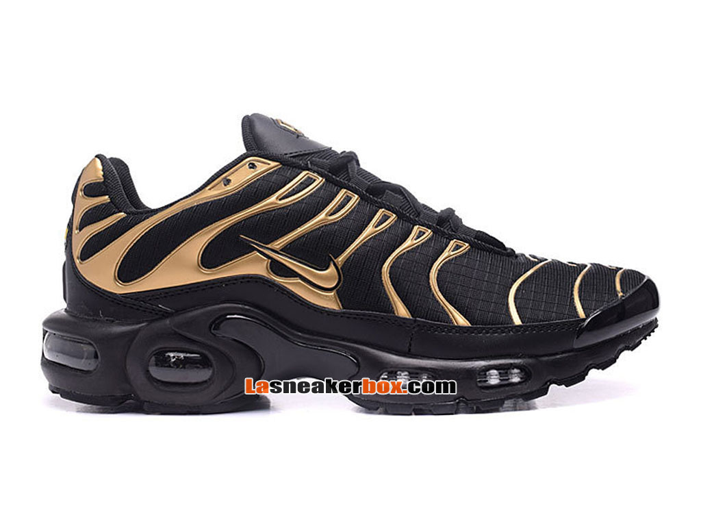 nike air max tn tuned requin 2017 chaussures officiel nike pas cher pour homme noir or 604133. Black Bedroom Furniture Sets. Home Design Ideas