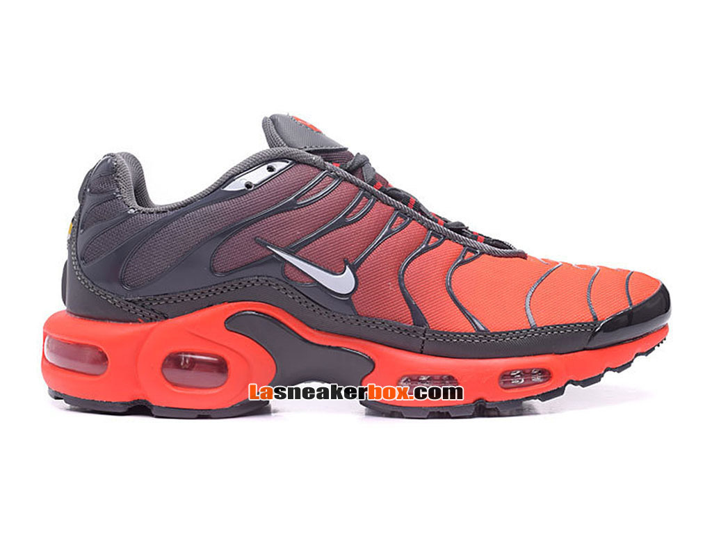Nike Air Max Tn/Tuned Requin 2017 Chaussures Officiel Nike Pas Cher Pour Homme Rouge 604133-680