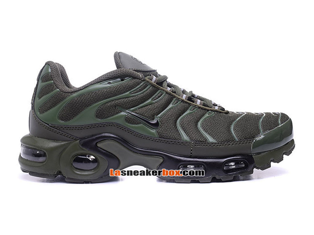 Nike Air Max Tn/Tuned Requin 2017 Chaussures Officiel Nike Pas Cher Pour Homme Vert 604133-687