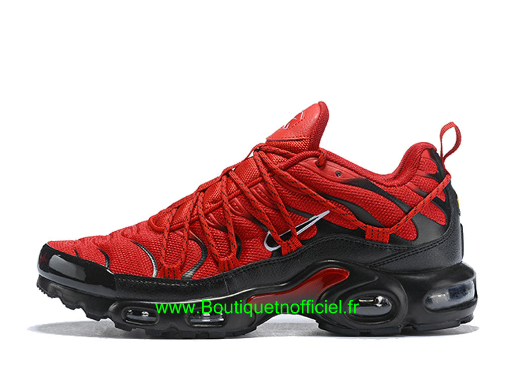 Nike Air Max Tn Ultra SE Chaussures Nike 2019 Pas Cher Pour Homme Rouge Noir