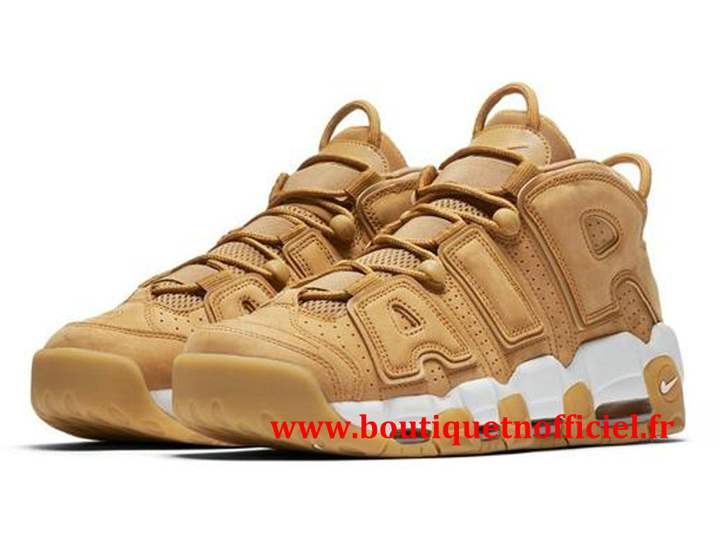 Nike Air More Uptempo `96 Premium Chaussures BasketBall Pas Cher Pour Homme Flax AA4060-200