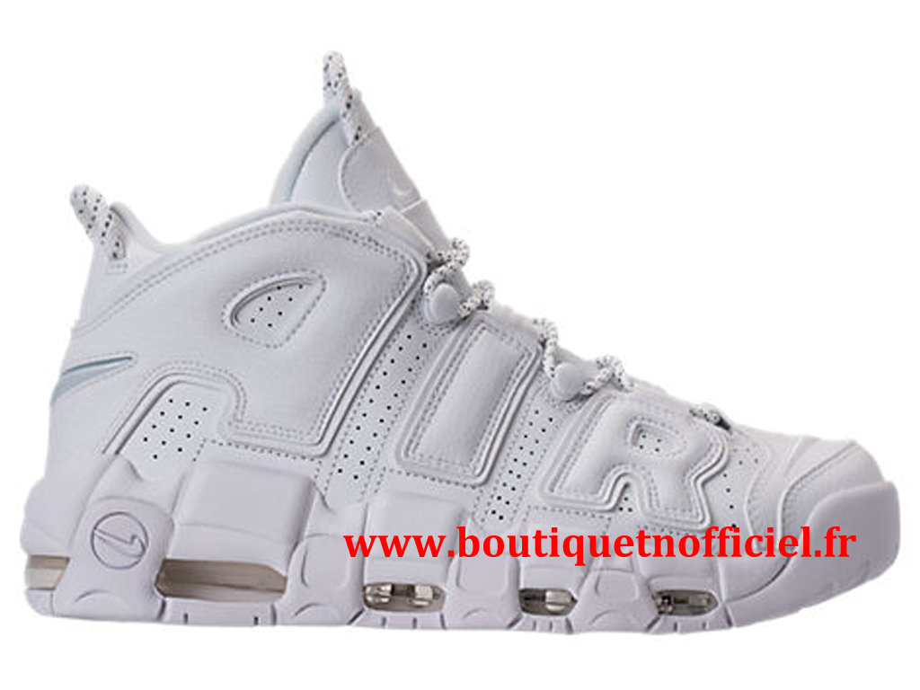 Nike Air More Uptempo ´96 Chaussures BasketBall Pas Cher Pour Homme Blanc 921948-100