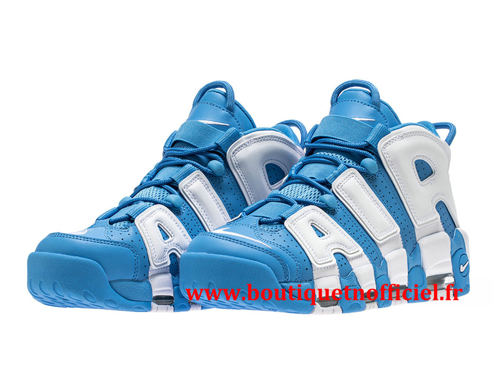 Nike Air More Uptempo ´96 Chaussures BasketBall Pas Cher Pour Homme Bleu Blanc 921948-401