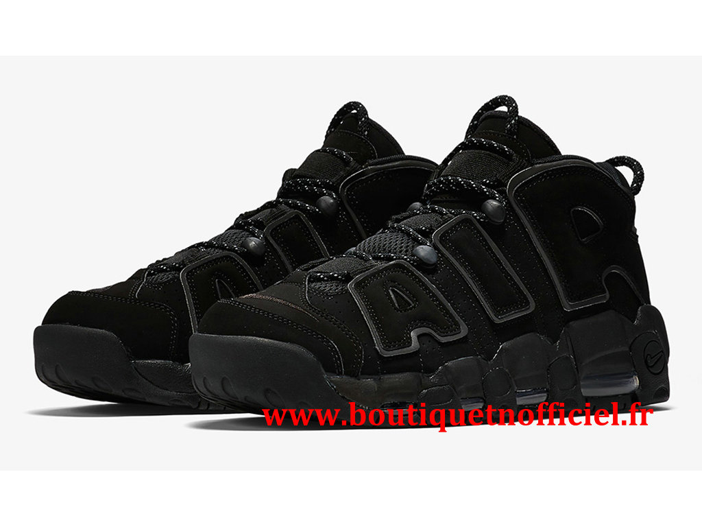 Nike Air More Uptempo Chaussures BasketBall Pas Cher Pour Homme Noir 414962-004