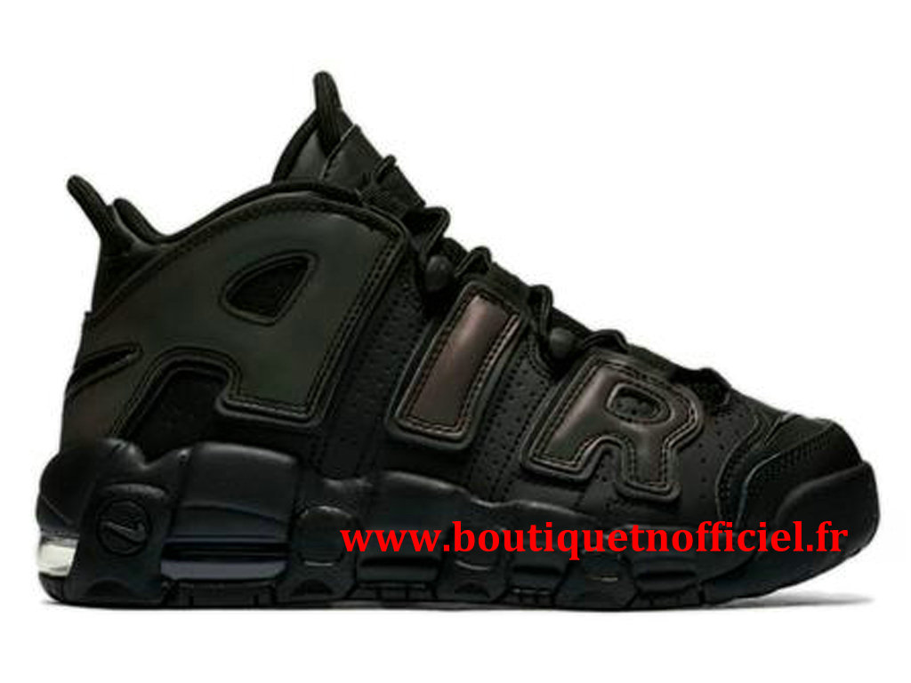 Nike Air More Uptempo Chaussures BasketBall Pas Cher Pour Homme Noir Vert 922845-001