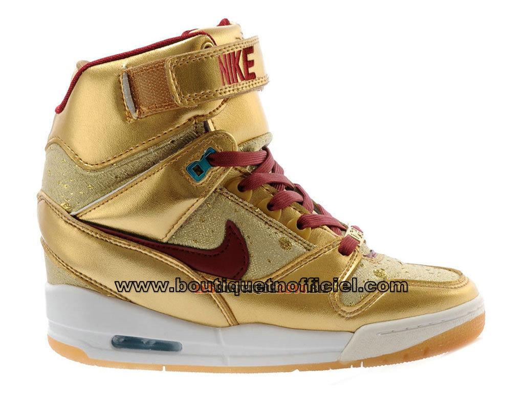 Nike Air Revolution Sky Hi BHM (Black History Month) GS - Chaussures Montante Nike Pour Femme