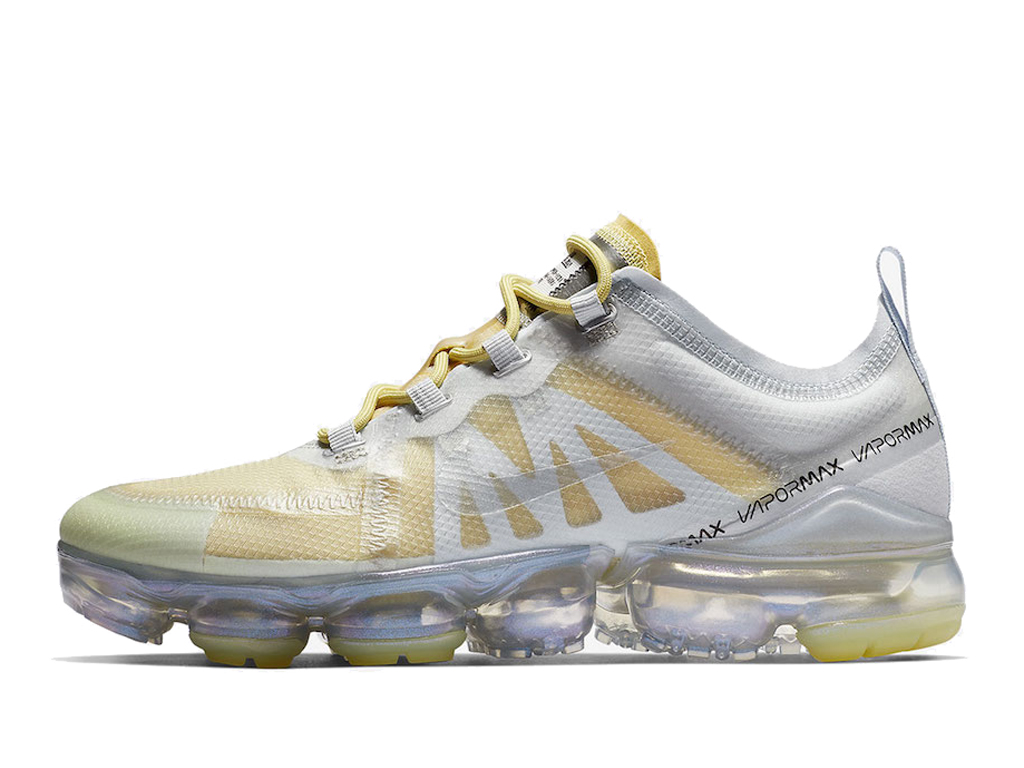 a4b98c3ba8f8 Nike Air Vapormax 2019 Men´s Nike Running Cheap Shoes White Jaune AT6817-301