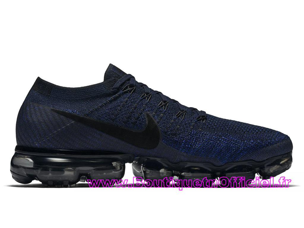 53df9a95850 ... Nike Air VaporMax Chaussures Nike Pas Cher Pour Homme Midnight Navy  849558-400 ...