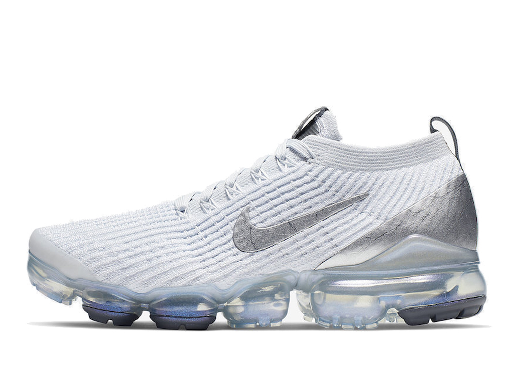 best sneakers 8f6f6 97a1e Nike Air VaporMax Flyknit 3.0 Men´s Nike Running Cheap Shoes White Gery  AJ6910-