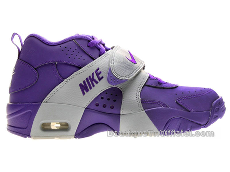 Nike Air Veer GS - Chaussures Nike LifeStyle Pas Cher Pour Femme  Violet/Wolf Gris 599213-500