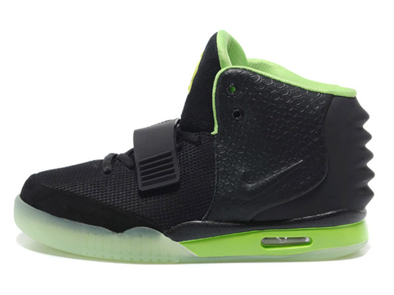 uk availability bc23c b0c1f Nike Air Yeezy 2 II - Men´s Nike Basket-Ball Shoes Green/Black ...