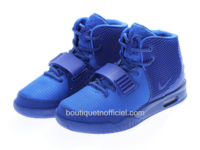 Nike Air Yeezy 2II ´Blue December´ 2014 Chaussures Pour
