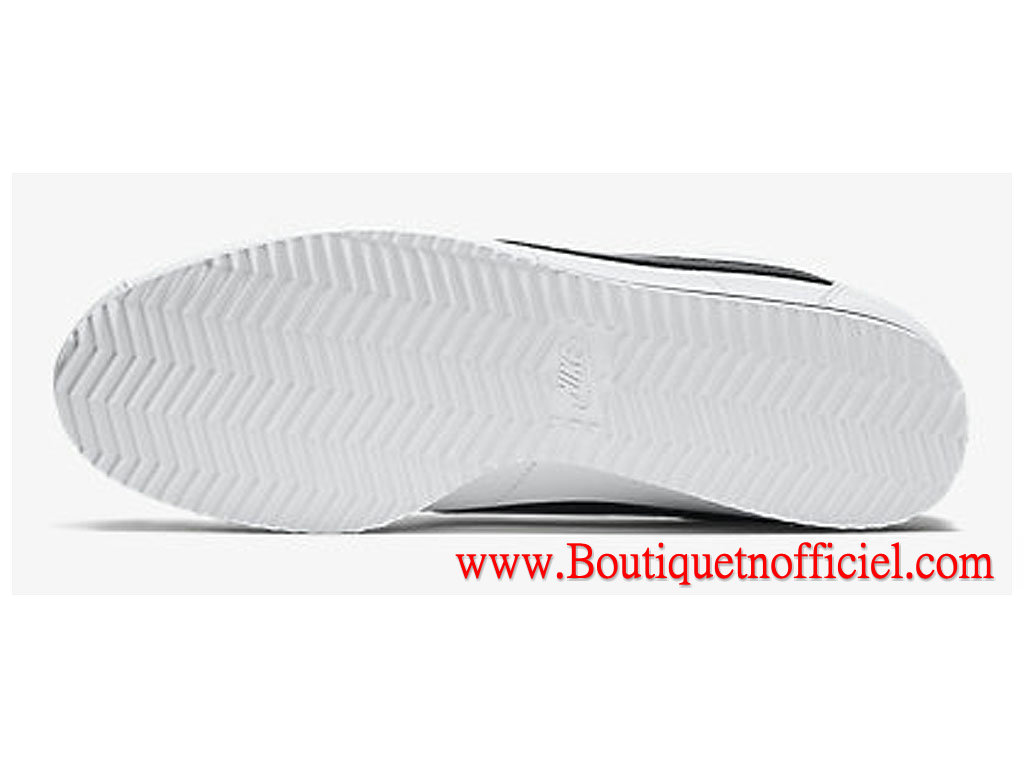 new style 5b41a bd317 ... Nike Classic Cortez Leather GS Women´s Shoes White Black 807471-101 ...