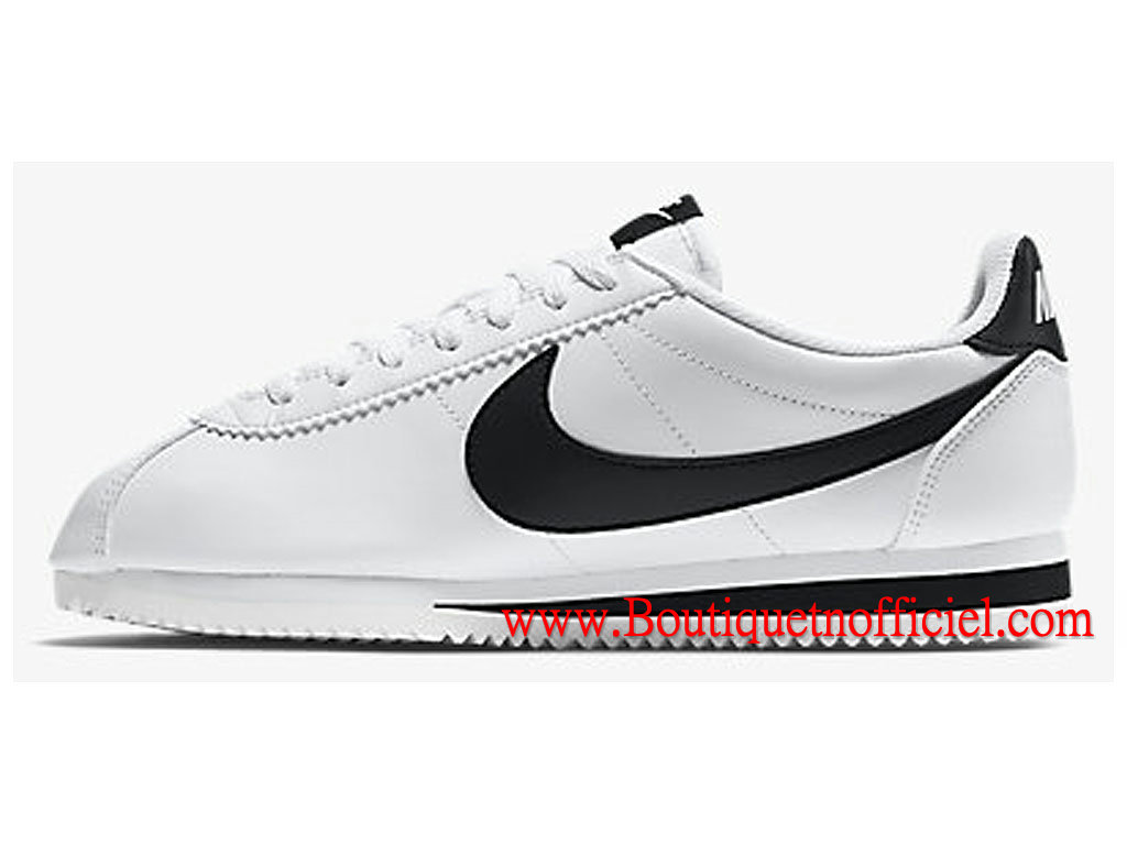 new style f0f45 1a4d1 ... Nike Classic Cortez Leather GS Women´s Shoes White Black 807471-101 ...