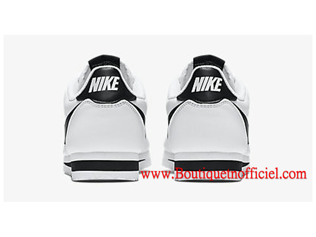 wholesale dealer dc0f9 c4523 ... Nike Classic Cortez Leather GS Women´s Shoes White Black 807471-101