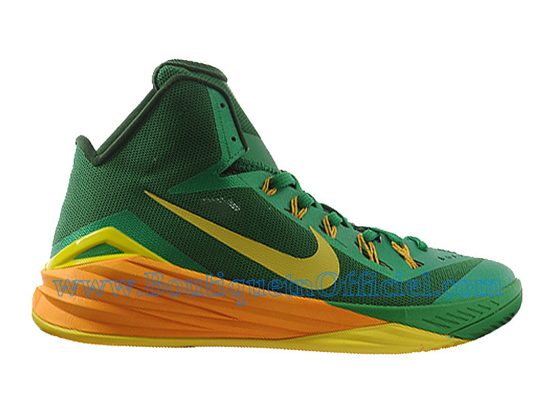 Nike HyperDunk 2014 Chaussures Nike BasketBall Pas Cher Pour Homme Brazil 653640-373