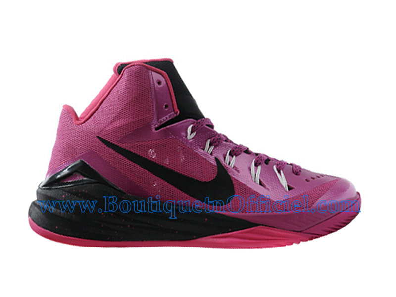 Nike HyperDunk 2014 Chaussures Nike BasketBall Pas Cher Pour Homme Think Pink 653640-606