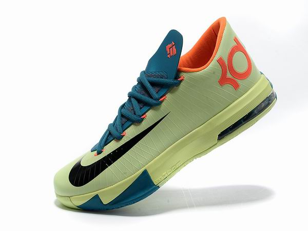 Nike KD VI Total Orange Chaussures Basketball Pour Homme jaune-orange
