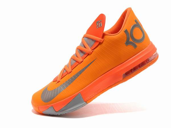 Nike KD VI Total Orange Chaussures Basketball Pour Homme orange gris