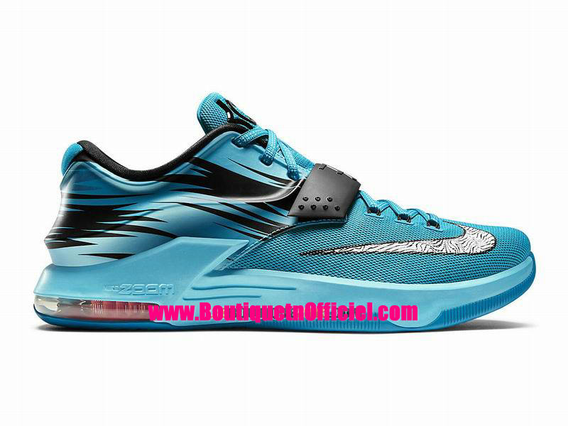 Nike kd vii 7 chaussures nike baskets pas cher pour homme for Bleu canard clair
